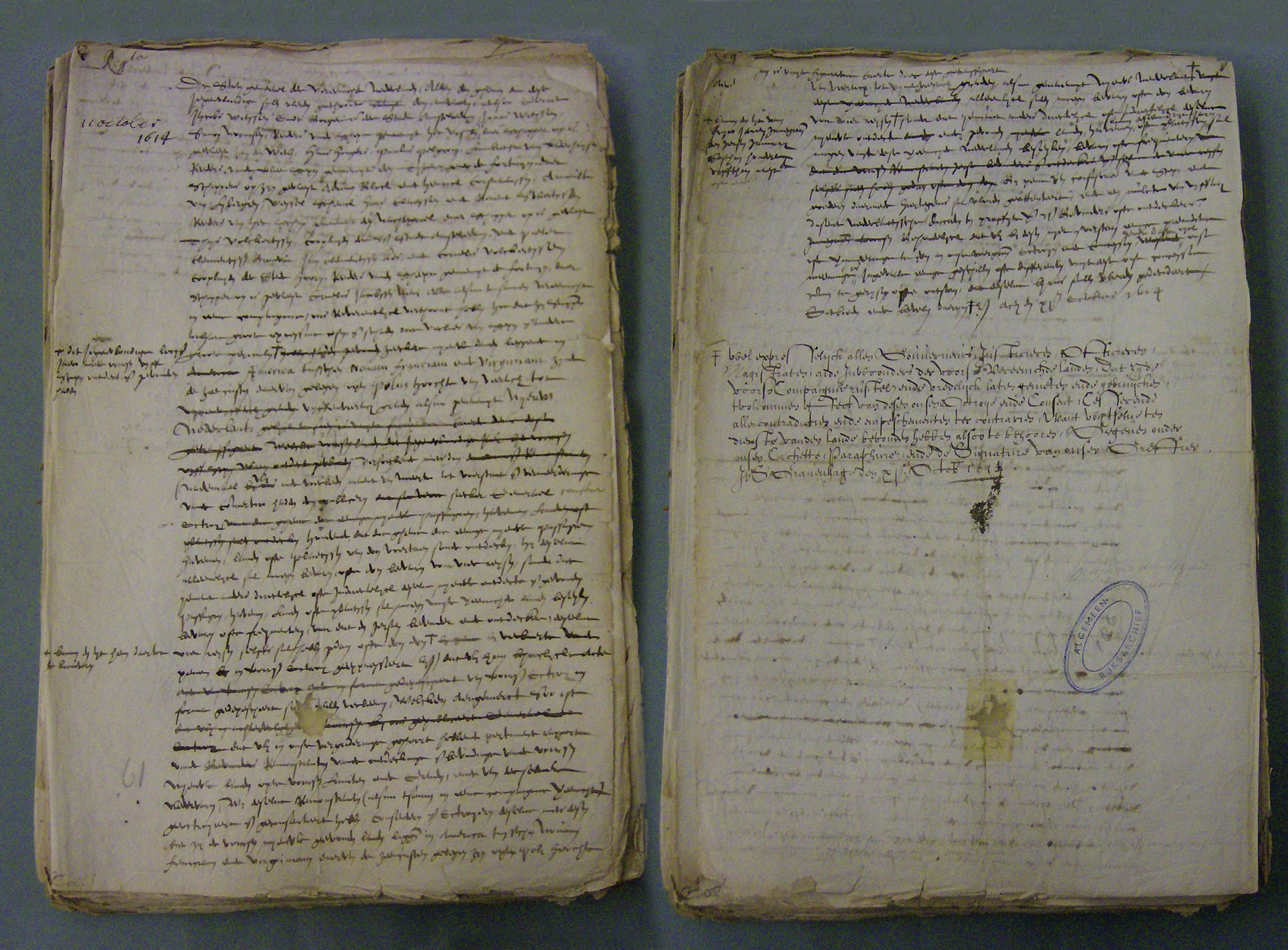 NNC Licentie 11 okt 1614