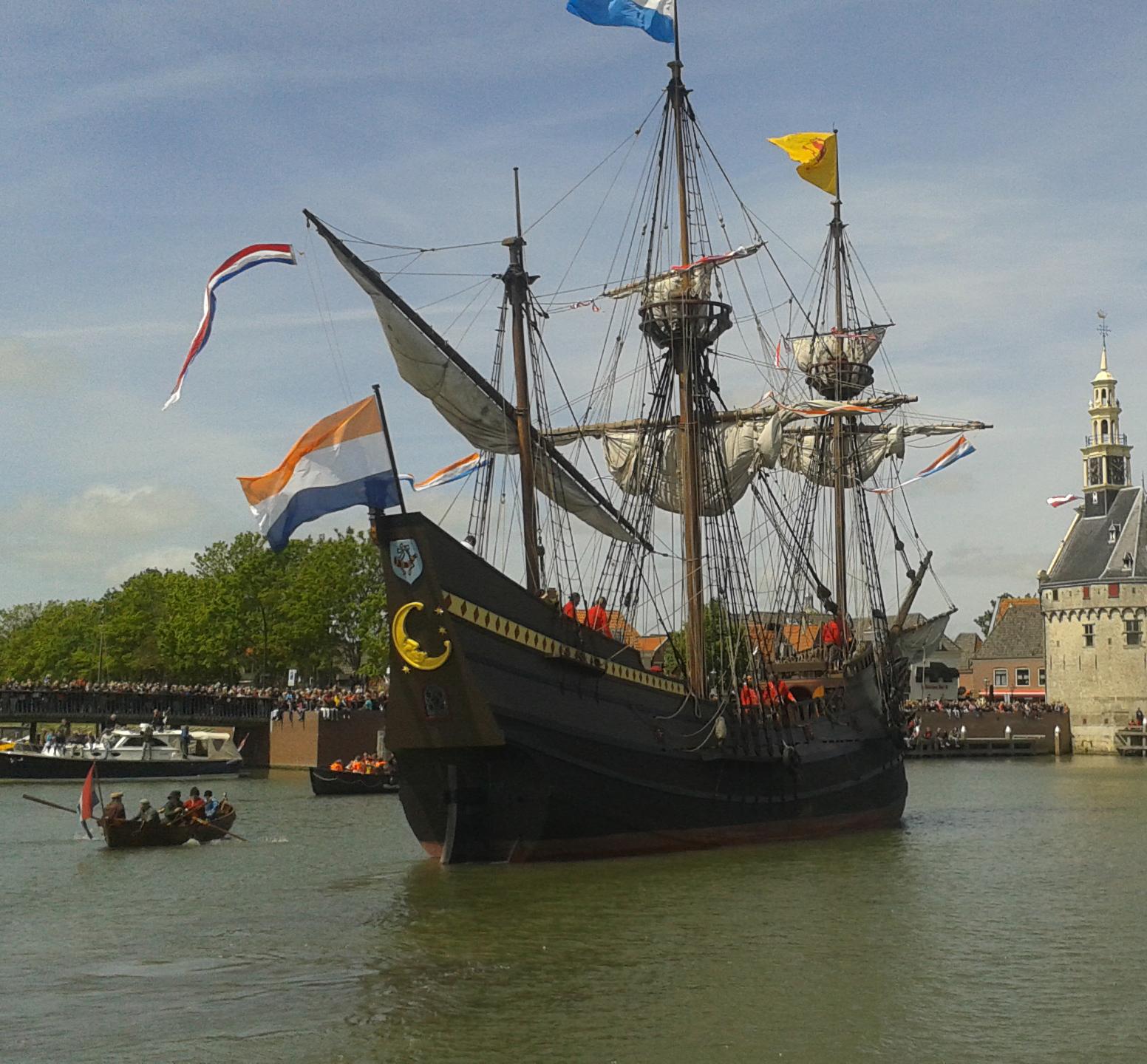 De Halve Maen: <br>een schip vol verhalen