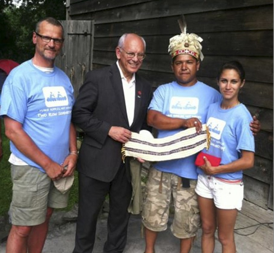 Indianen herdenken vierhonderd jaar oud akkoord met Nederlanders