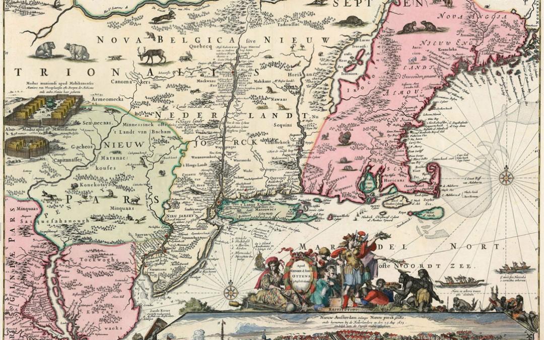De kaart van Jansson-Visscher