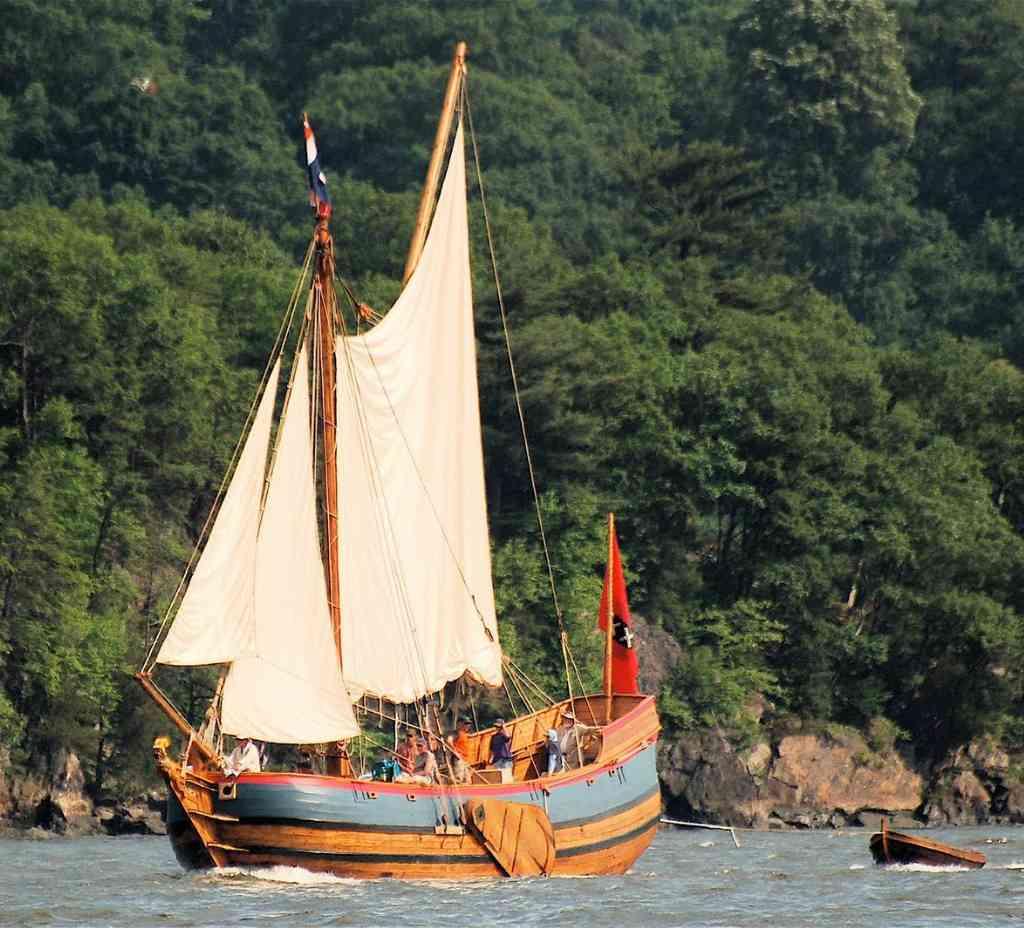 De Onrust: het eerste onderzoeksschip van Noord-Amerika