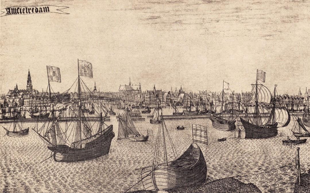 Amsterdam handelscentrum van de wereld