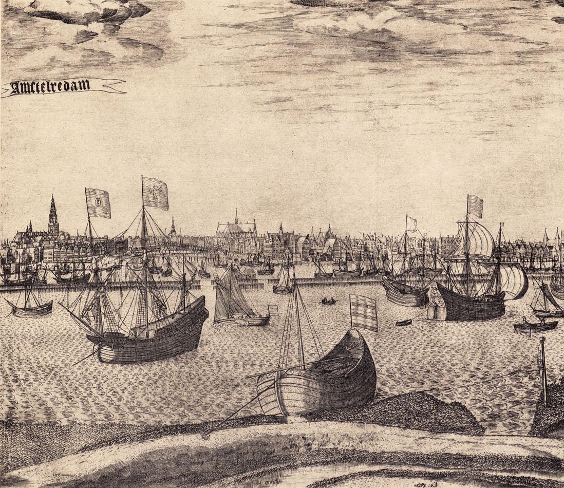 Amsterdam <br>handelscentrum van de wereld